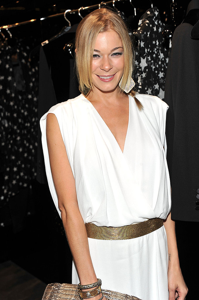 LeAnn Rimes attended Fashion's Night Out.