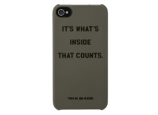 InCase Ace Hotel collection iPhone 4 case ($40)