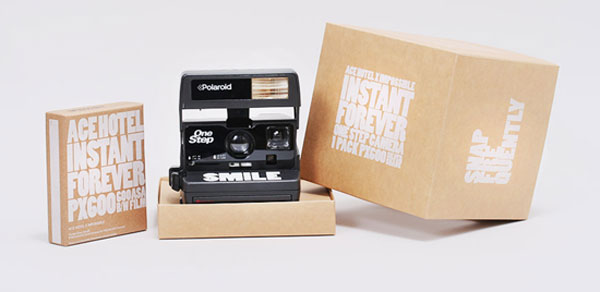 Impossibly Cool Ace Hotel Gives Guests Polaroids