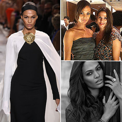 Joan Smalls Interview at Fashion Week 2011