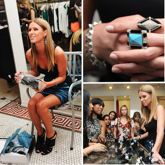Nicky Hilton Hits NYC For Fashion's Night Out; We Scoop Her Collection and Fall Shopping Tips
