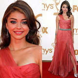 Emmys: Sarah Hyland in Christian Siriano Gown