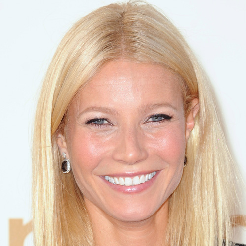 Gwyneth Paltrow: Straight and Sleek