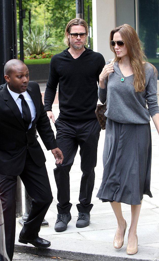 Brad and Angelina Pop Up in London Ahead of Moneyball's Premiere Tonight