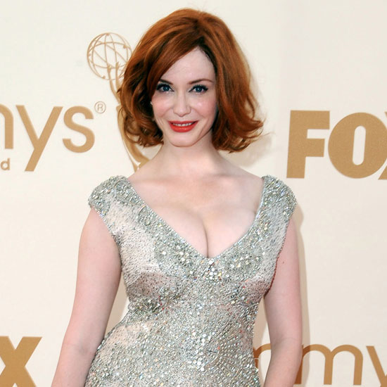 Christina Hendricks Glows With Her Husband by Her Side at the Emmys