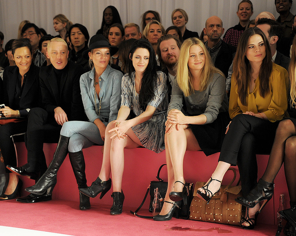 Kristen Stewart at London Fashion Week