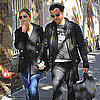 Jennifer Aniston & Justin Theroux Hold Hands in NYC Pictures
