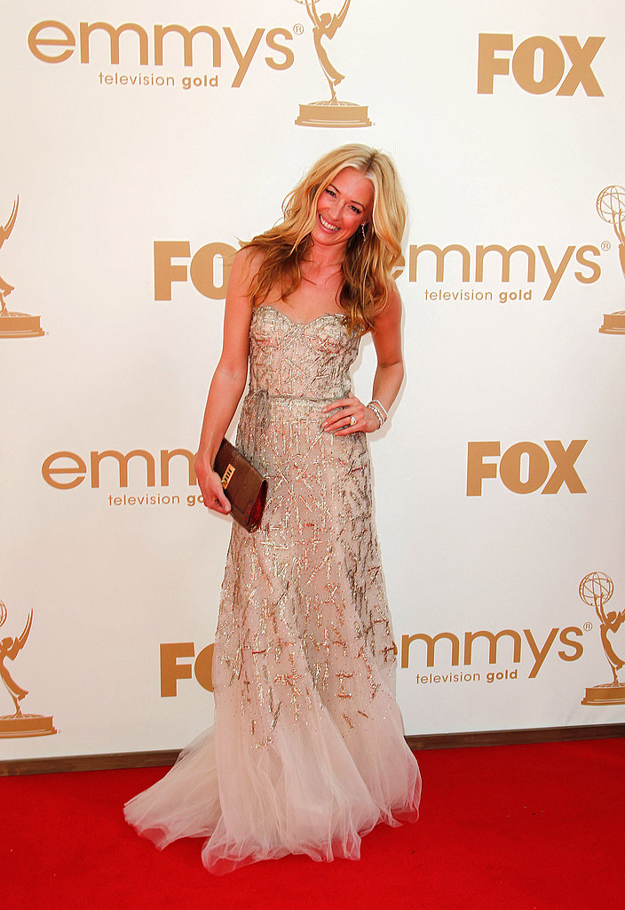 Cat Deeley Sparkles in a Strapless Monique Lhuillier at the Emmys!