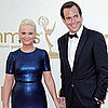 Will Arnett and Amy Poehler at Emmys 2011