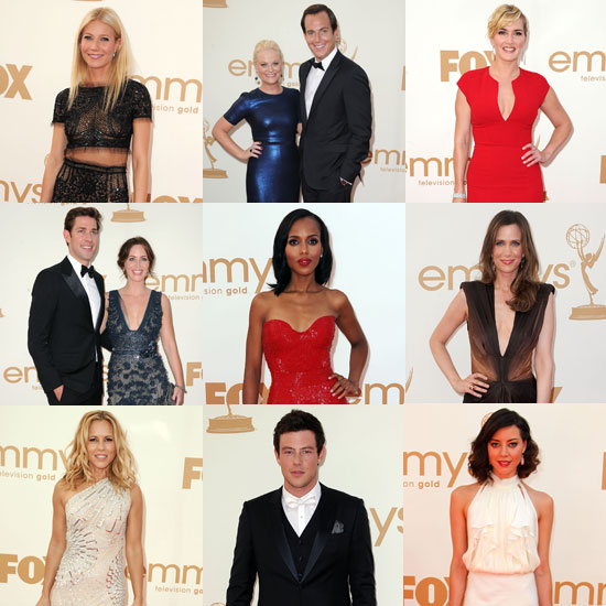 See Gwyneth, Amy, Will, Kate, and More Arrive in Style on the Emmys Red Carpet!