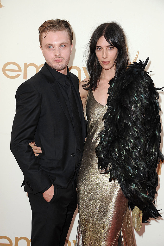 Michael Pitt and Jamie Bochert