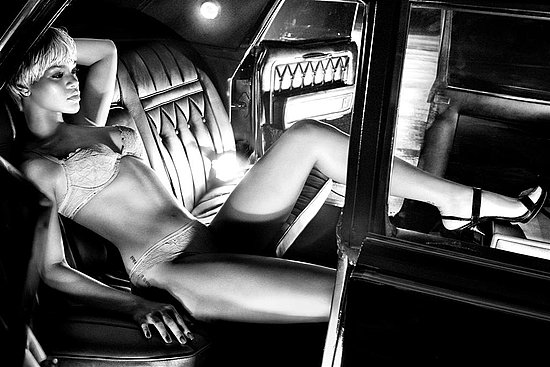 Rihanna for Emporio Armani Underwear Fall 2011
