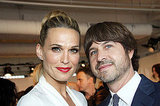 Molly Sims and Roger Berman in NYC during Fashion Week.