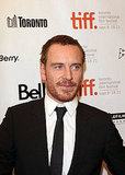 Michael Fassbender at the Toronto Film Festival for Shame.