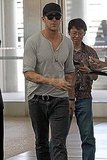 Ryan Gosling at the Toronto Airport.