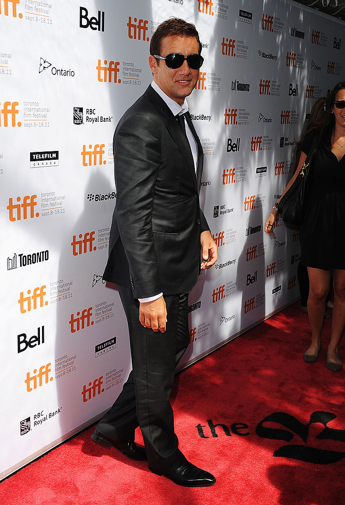 Clive Owen hot in sunglasses.