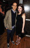 Anna Kendrick and a friend at a vitaminwater party for Killer Joe.