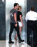 Jennifer Aniston with boyfriend Justin Theroux.