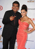 George Lopez and Eva Longoria at the ALMA Awards.