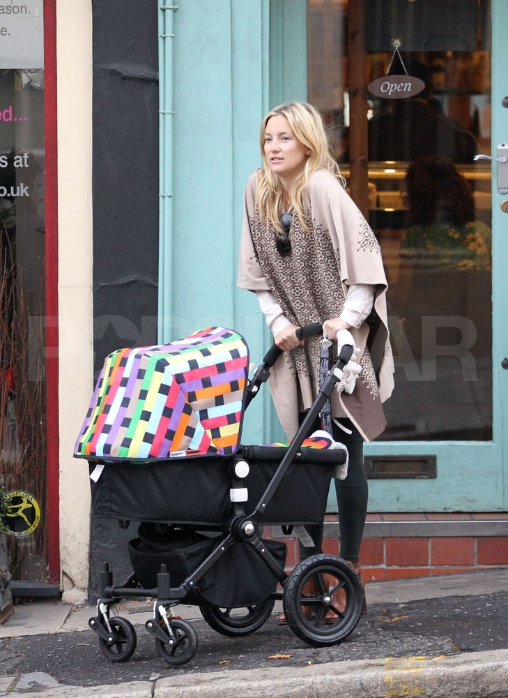Kate Hudson with son Bingham.