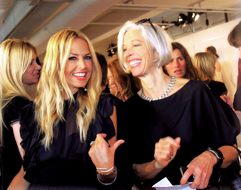 Rachel Zoe presents her collection in NYC.