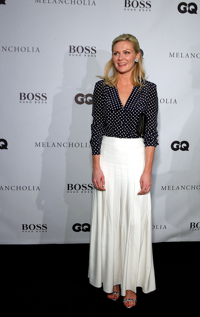 Kirsten Dunst at the Melancholia premiere afterparty in Toronto.