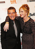 Antonio Banderas with wife Melanie Griffith.