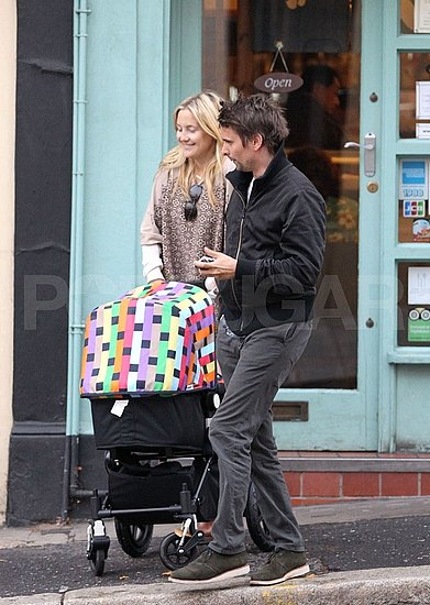 Kate Hudson and Matt Bellamy Explore London's Shops and Pubs With Bingham