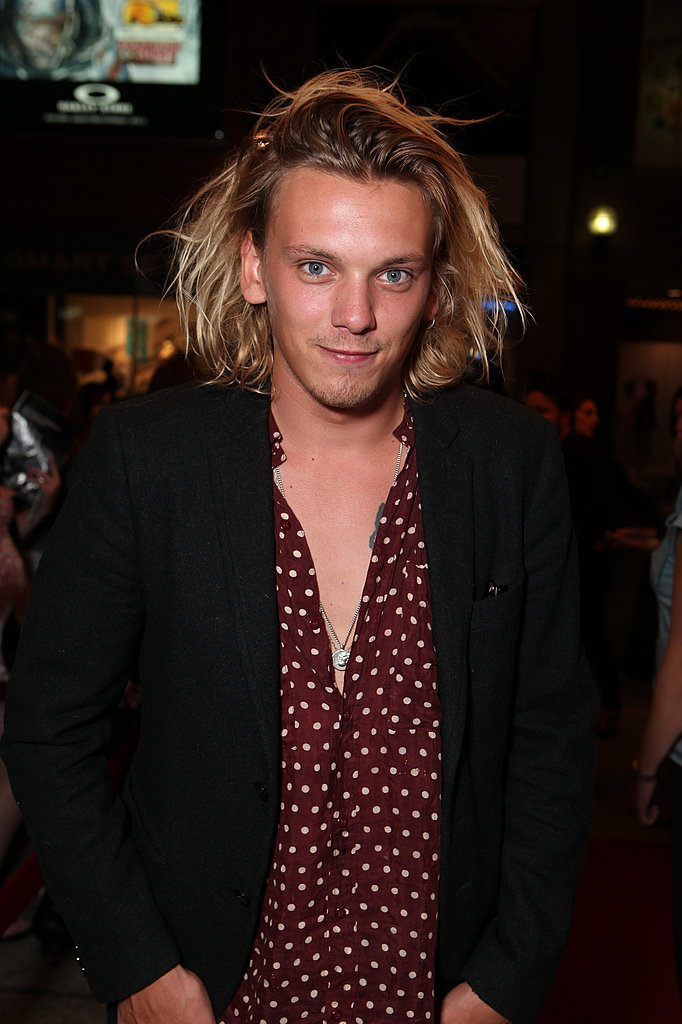 Jamie Campbell Bower signed several autographs and took lots of pictures with fans before the film began.