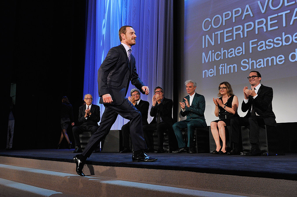 Michael Fassbender won best actor at the Venice Film Festival.