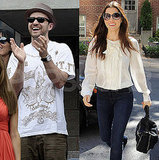 Justin Timberlake and Jessica Biel Bring Their Bright Smiles Out in Separate Cities