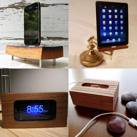iPhone Charger Stands and Docks