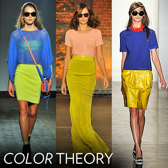 Spring 39s 2012 color theory is this go bold and bright and make your
