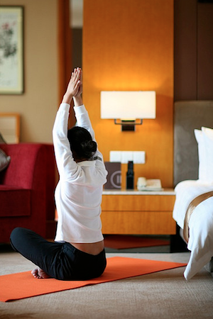 hotel yoga