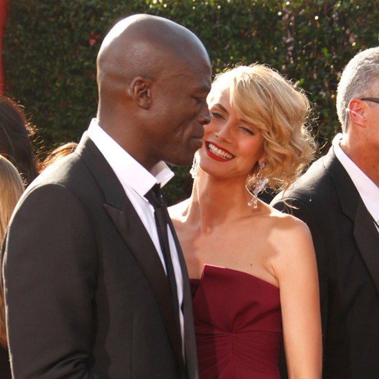 Heidi Klum only had eyes for Seal on the 2007 Emmys red carpet.