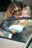 Sarah Jessica Parker with young daughter Marion.