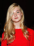 Elle Fanning attends Marc by Marc Jacobs.
