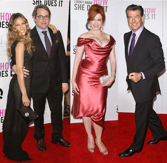 New York Premiere of I Don't Know How She Does It