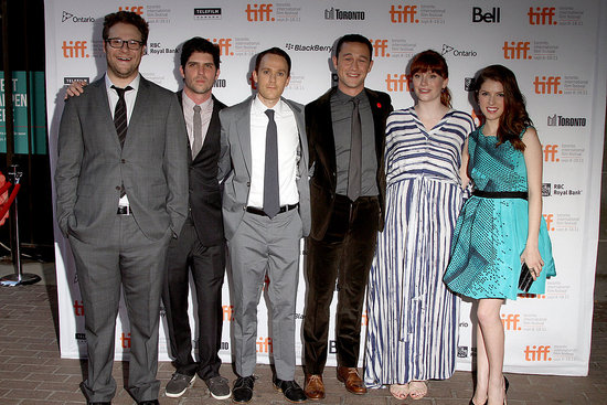 JGL, Seth, Anna, and Bryce's Cancer Comedy 50/50 Earns a Standing Ovation at TIFF