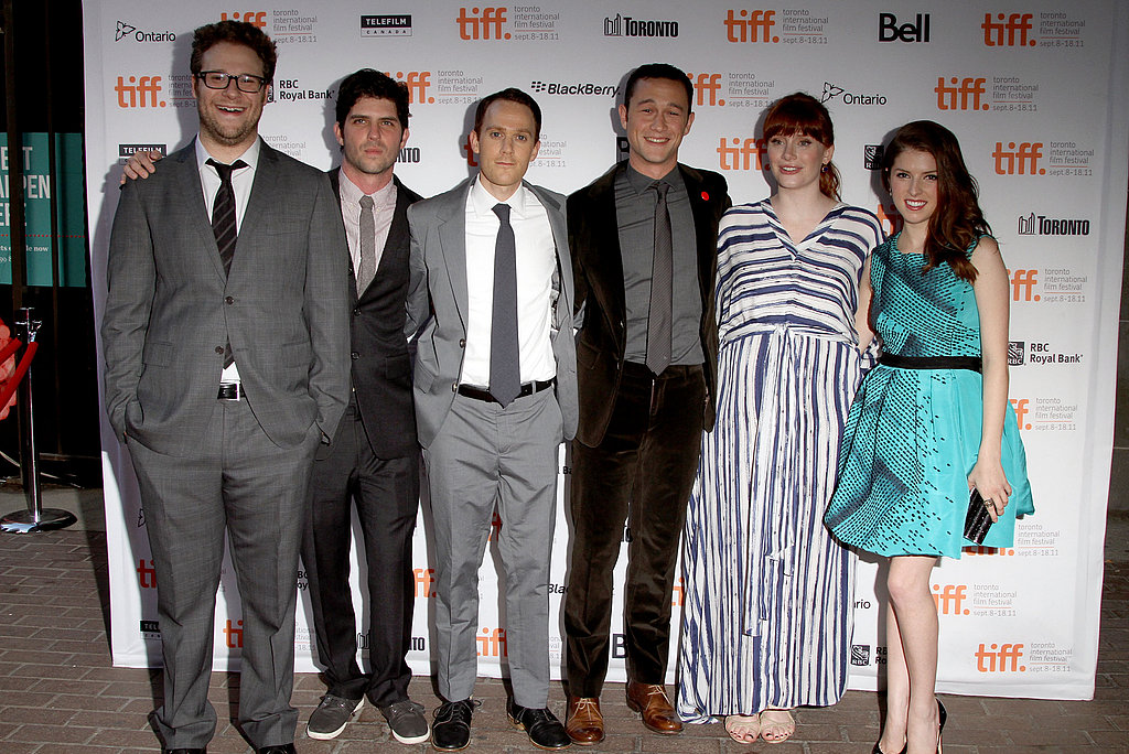 Seth Rogen, Joseph Gordon-Levitt, Bryce Dallas Howard, Anna Kendrick, Jonathan Levine, and Will Reiser at the 50/50 premiere.