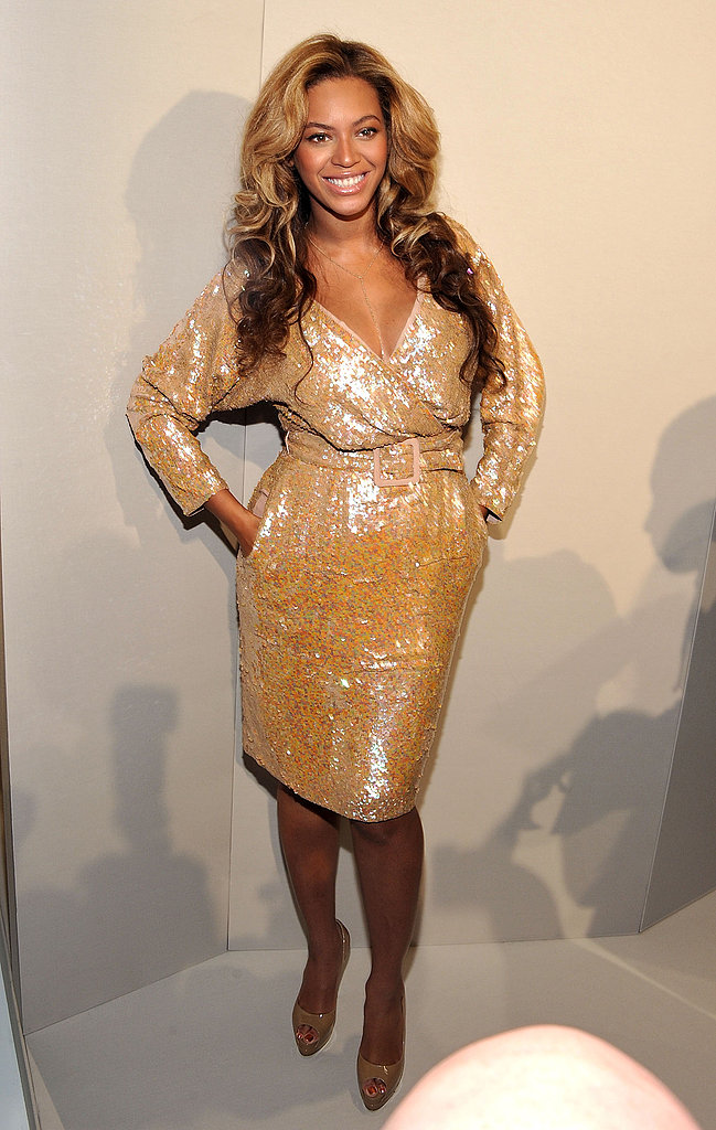 Beyoncé Knowles made the Fashion Week rounds.