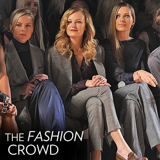 Check Out the Stylish Celebs Making the Rounds at NYFW!