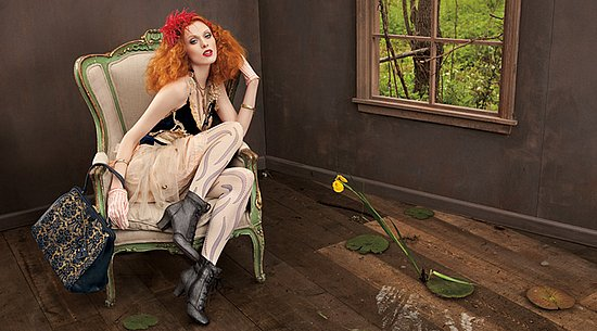 See — and Shop — Karen Elson's Collection for Nine West Vintage America