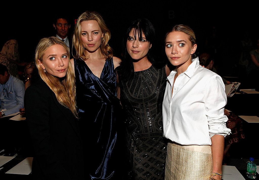 Mary-Kate and Ashley shared a photo with Melissa George and Selma Blair.