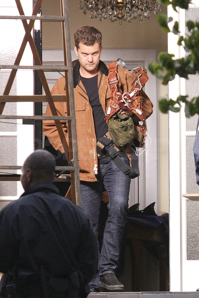 Joshua Jackson shot Fringe on location in Vancouver.