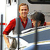 Ryan Gosling Pictures Filming Gangster Squad