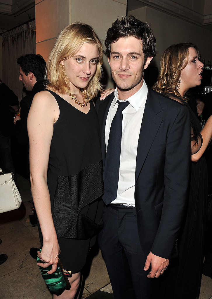 Greta Gerwig hung out with Adam Brody at the Toronto Film Festival.