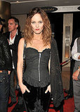 Vanessa Paradis wears all black to the 2011 Toronto International Film Festival.