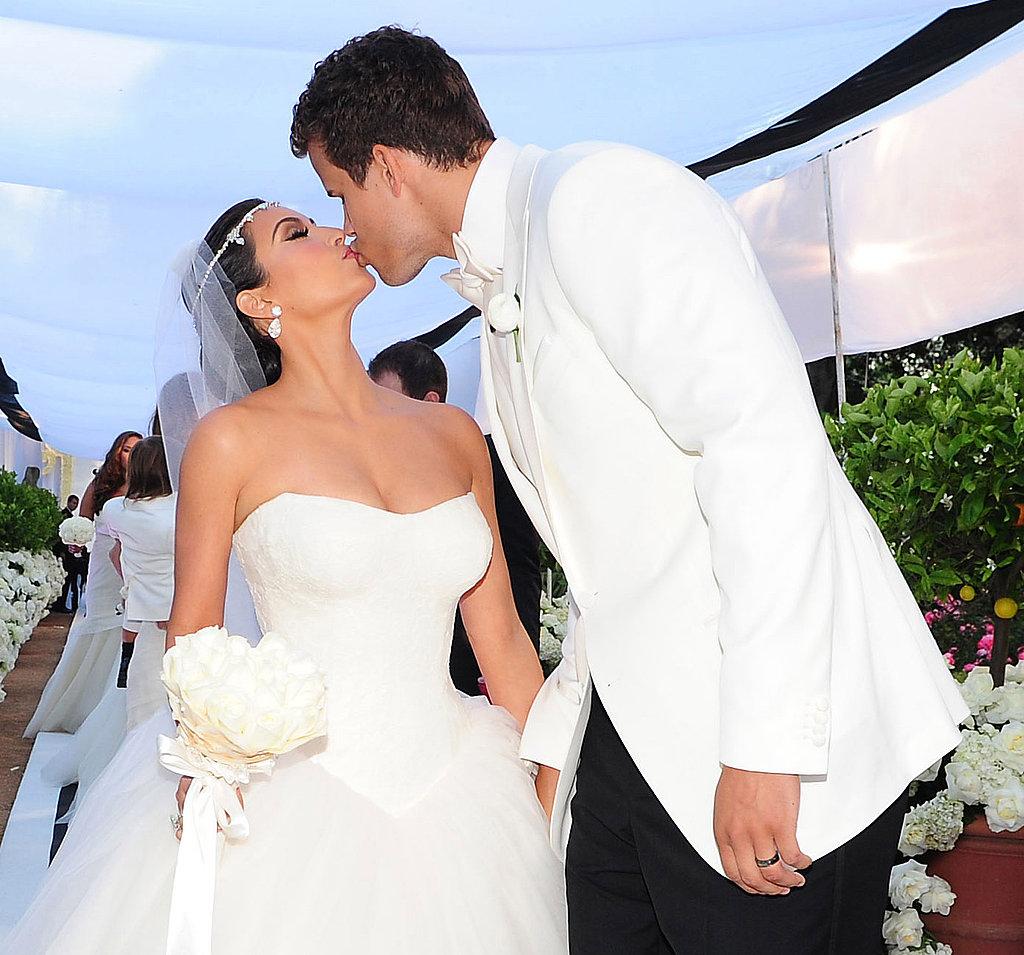 Kim And Kris Wedding: Kim Kardashian Wedding Pictures With Kris Humphries