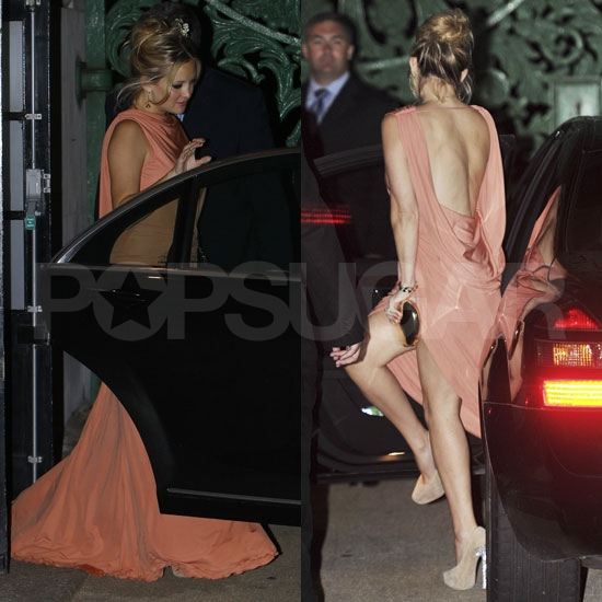 Kate Hudson Turns Heads in Her Backless Elie Saab at Stella's Birthday Bash